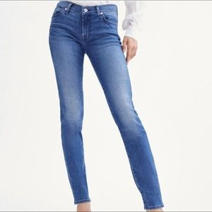 NEW 7 For All Mankind Roxanne Jeans in Atlantic 27